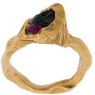 Imogen Belfield Neon Heart ring