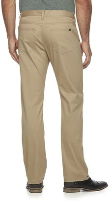 Marc Anthony Men's Stretch Slim-Fit Brushed Twill Pants - ShopStyle