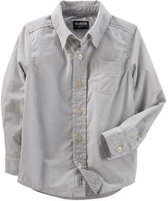 Osh Kosh Oshkosh Long Sleeve Button Down Shirt - Toddler Boy
