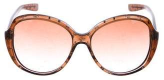 Bottega Veneta Oversize Gradient Sunglasses