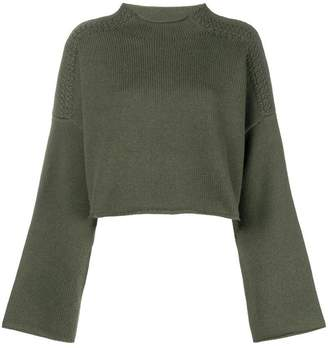 J.W.Anderson loose cropped knit sweater