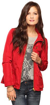 Forever 21 Storm Flap Windbreaker Jacket