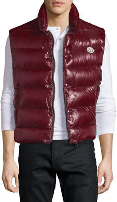 Moncler Tib Shiny Puffer Vest