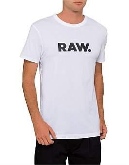 G Star G-Star Holorn Raw Logo S/S Tee