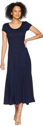 Lauren Ralph Lauren Jersey Scoop Neck Maxi Dress Women's Dress