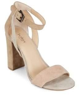 Botkier New York Gianna Leather Block Heel Sandals