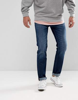 Lee Rider Slim Fit Jean Mid Wash