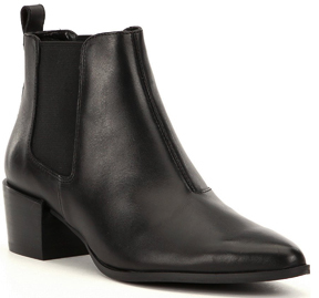 Steve Madden - Vanity - Leather Bootie $110 thestylecure.com