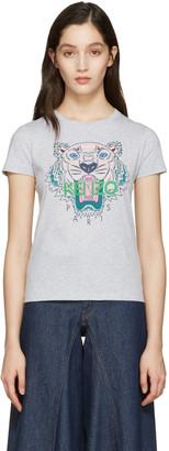 Kenzo Grey Tiger T-Shirt $110 thestylecure.com