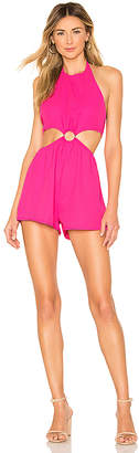 a18b3cce935 superdown x REVOLVE Eliana O Ring Cut Out Romper