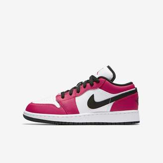 Jordan Air 1 Low Big Kids' (Girls') Shoe