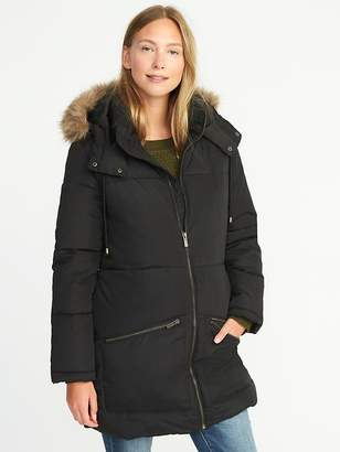 Old Navy Long Frost-Free Hooded Parka for Women