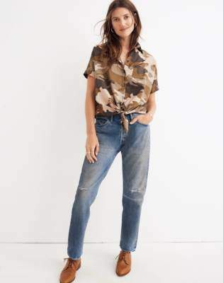 Madewell Chimala Selvedge Narrow Tapered Cut Jeans