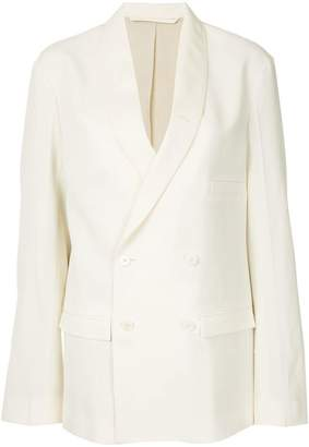 Lemaire double breasted blazer