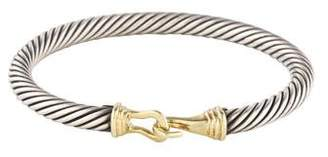 David Yurman Cable Classic Buckle Bracelet
