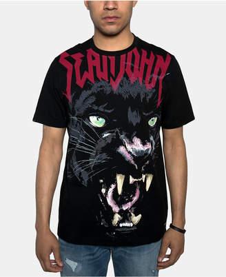 Sean John Men Panther Graphic T-Shirt