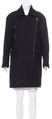 Etoile Isabel Marant Virgin Wool Knee-Length Coat
