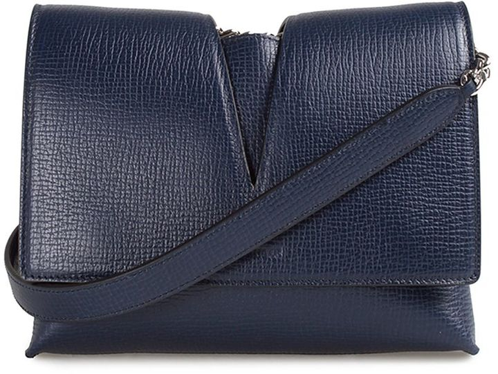 Jil Sander Jil Sander View Small Leather Cross-body Bag