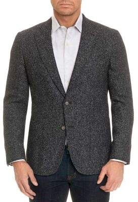 Robert Graham Chester Classic Marled-Knit Jacket