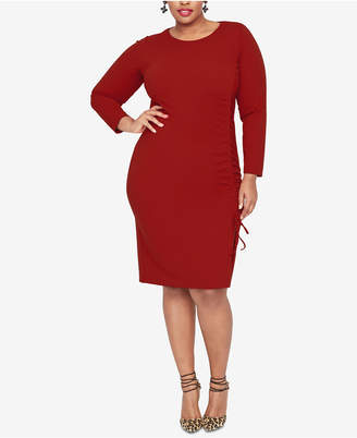 ac23f25af57e2 Rachel Roy Plus Size Side-Tie Sheath Dress