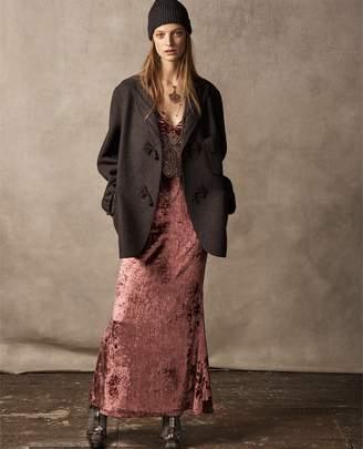 Ralph Lauren Annetta Velvet Dress
