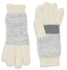 Isotoner Textured Heathered Knit Gloves