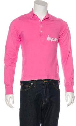 DSQUARED2 Graphic Polo Shirt