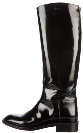 Saint LaurentSaint Laurent Patent Leather Knee-High Boots