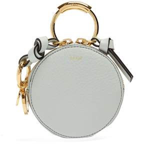 Chloé Round-mini leather coin purse