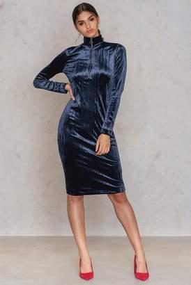 Samsoe & Samsoe Ziva Zip Dress Dark Sapphire