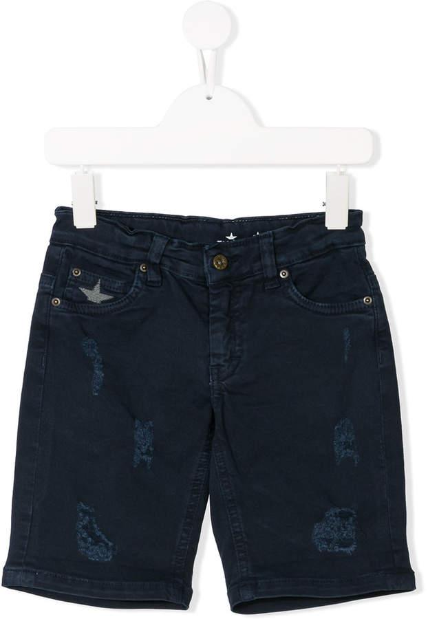 Macchia J Kids distressed denim shorts