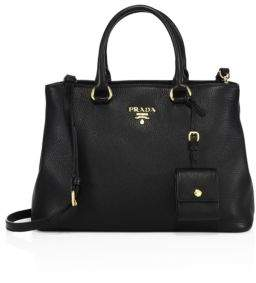 Prada Pebble Leather Tote