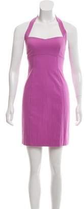 Narciso Rodriguez Mini Halter Dress