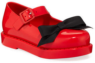 Mini Melissa Maggie Bow Mary Jane Flats, Toddler
