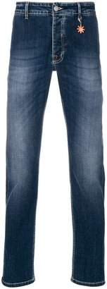 Manuel Ritz faded slim-fit jeans