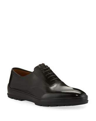 Bally Men's Renno Leather Lace-Up Shoes