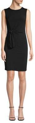 MICHAEL Michael Kors Knotted Waist Sheath Dress