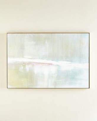 "Benson-Cobb Studios Refuge"" Horizontal Embellished Original Painting"