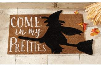 Mud Pie Come In My Pretties Halloween Doormat