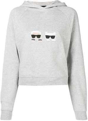 Karl Lagerfeld Ikonik hoodie