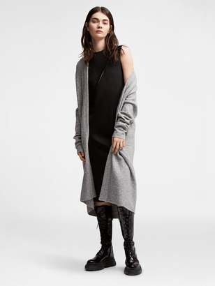 DKNY Pure Cable Knit Cardi Coat $498 thestylecure.com