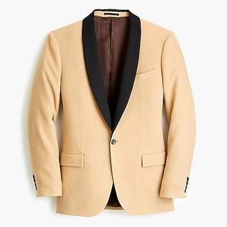 J.Crew Ludlow suit dinner jacket in camel hair