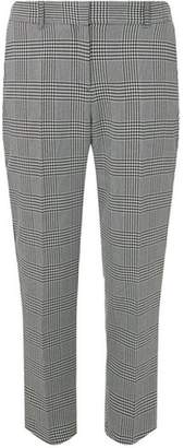 Dorothy Perkins Womens Multi Coloured Side Stripe Checked Trousers