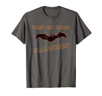 Trick or Treat Bat Halloween Creep Celebration Tee Gift