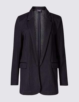 Marks and Spencer Striped Jersey Blazer