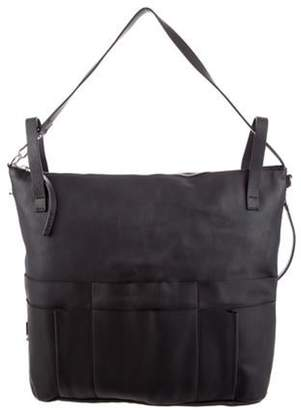 Marni Leather Harness Tote Black Leather Harness Tote