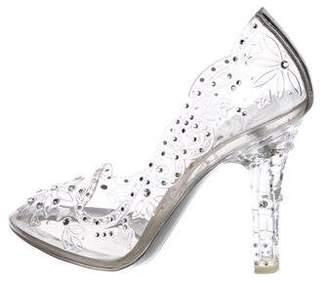 Dolce & Gabbana 2017 Cinderella Embellished PVC Pumps