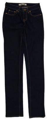 J Brand Scarlett Cigarette Low-Rise Straight-Leg Jeans