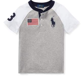 Ralph Lauren Cotton Jersey Henley Shirt