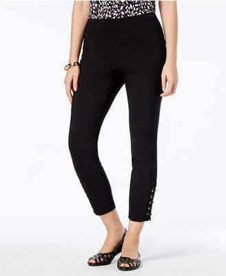 Thalia Sodi Lace-Up Pull-On Pants, Created for Macy's